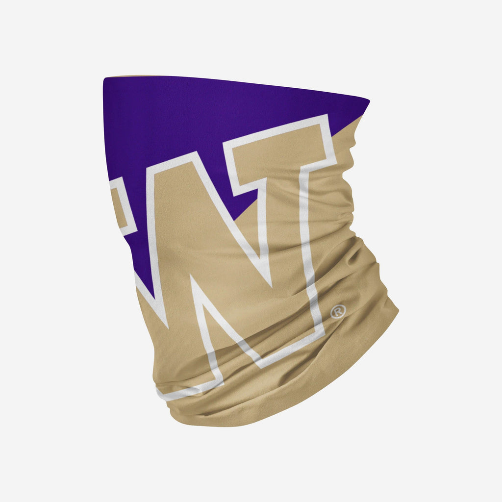 Washington Huskies Big Logo Gaiter Scarf FOCO - FOCO.com