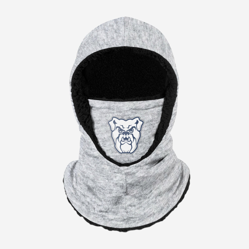 Butler Bulldogs Heather Grey Big Logo Hooded Gaiter FOCO - FOCO.com