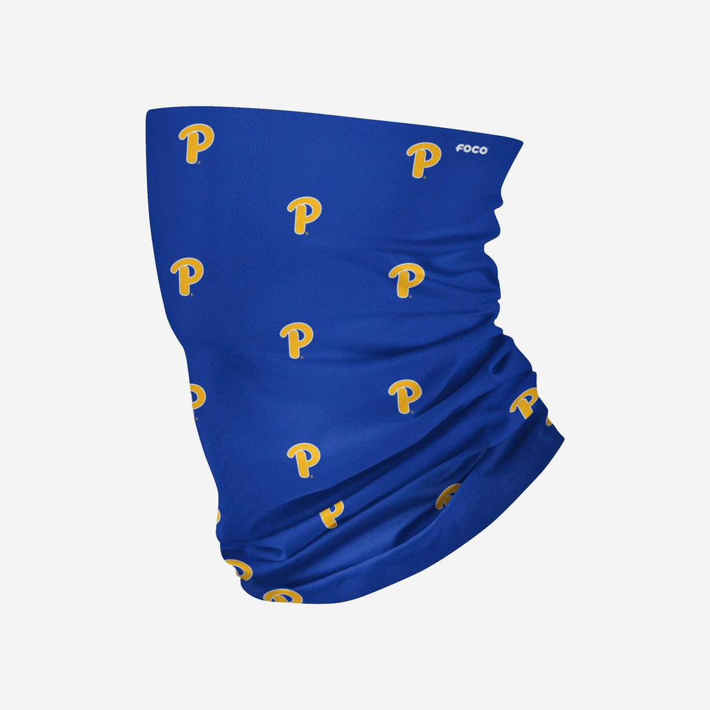 Pittsburgh Panthers Mini Print Logo Gaiter Scarf FOCO - FOCO.com