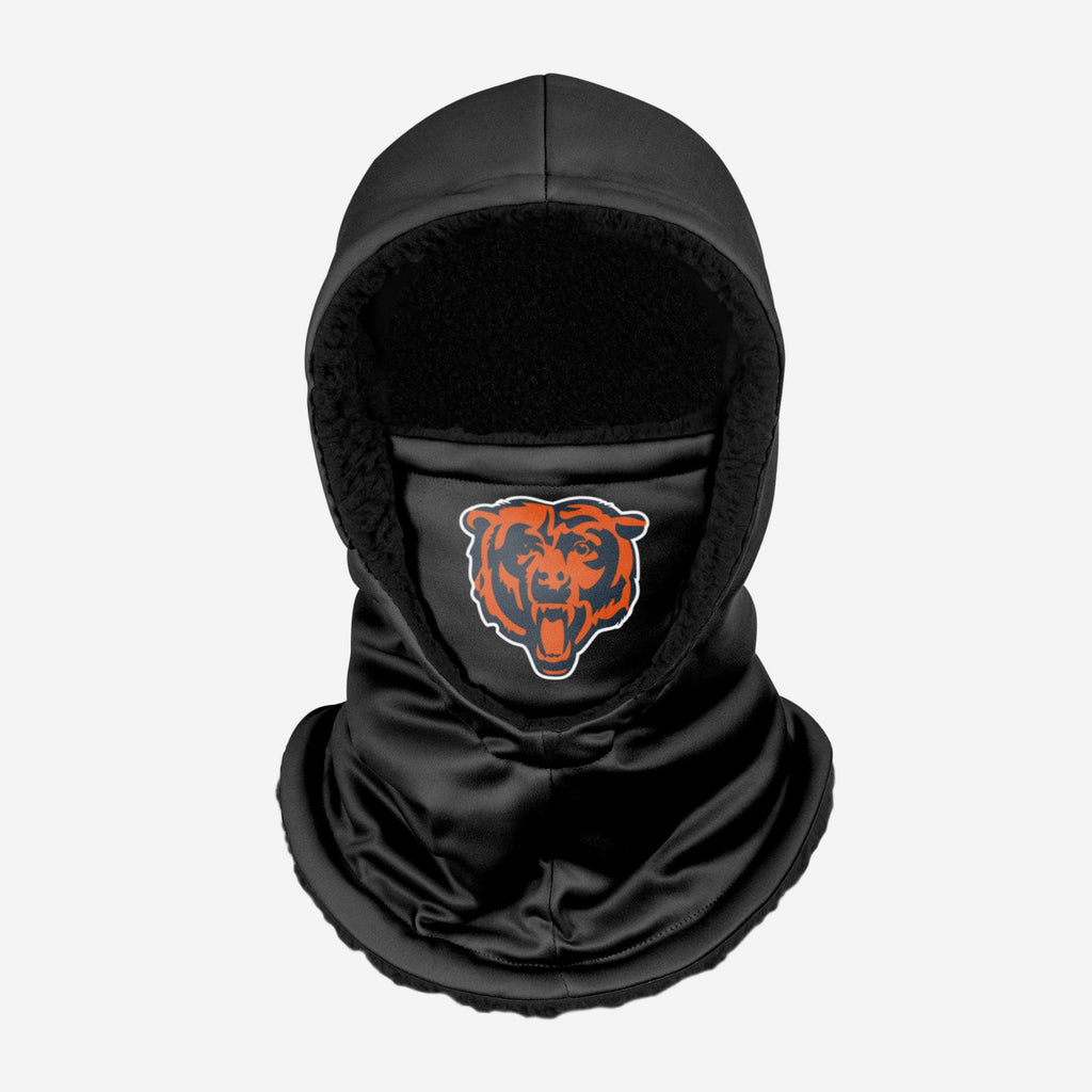 Chicago Bears Black Hooded Gaiter FOCO - FOCO.com