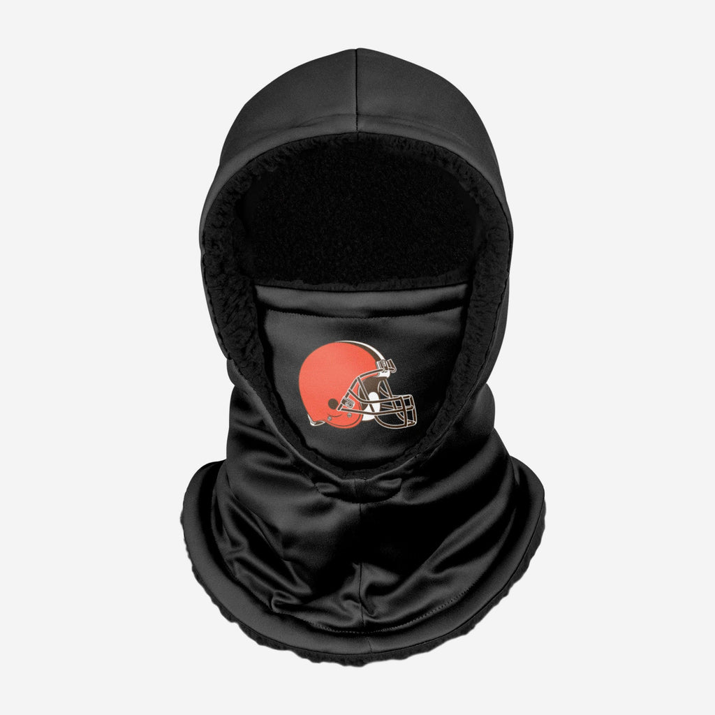 Cleveland Browns Black Hooded Gaiter FOCO - FOCO.com