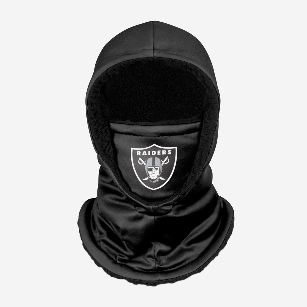 Las Vegas Raiders Black Hooded Gaiter FOCO - FOCO.com