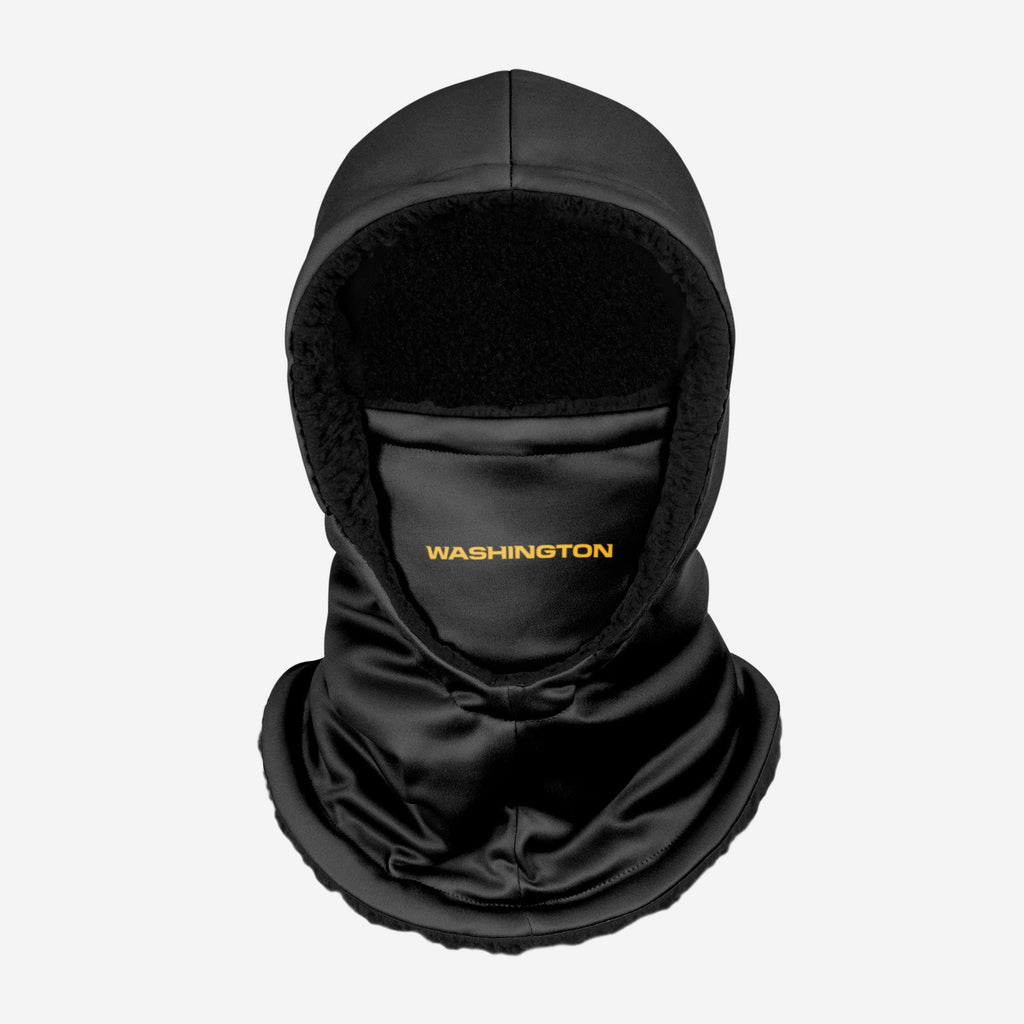 Washington Football Team Black Hooded Gaiter FOCO - FOCO.com