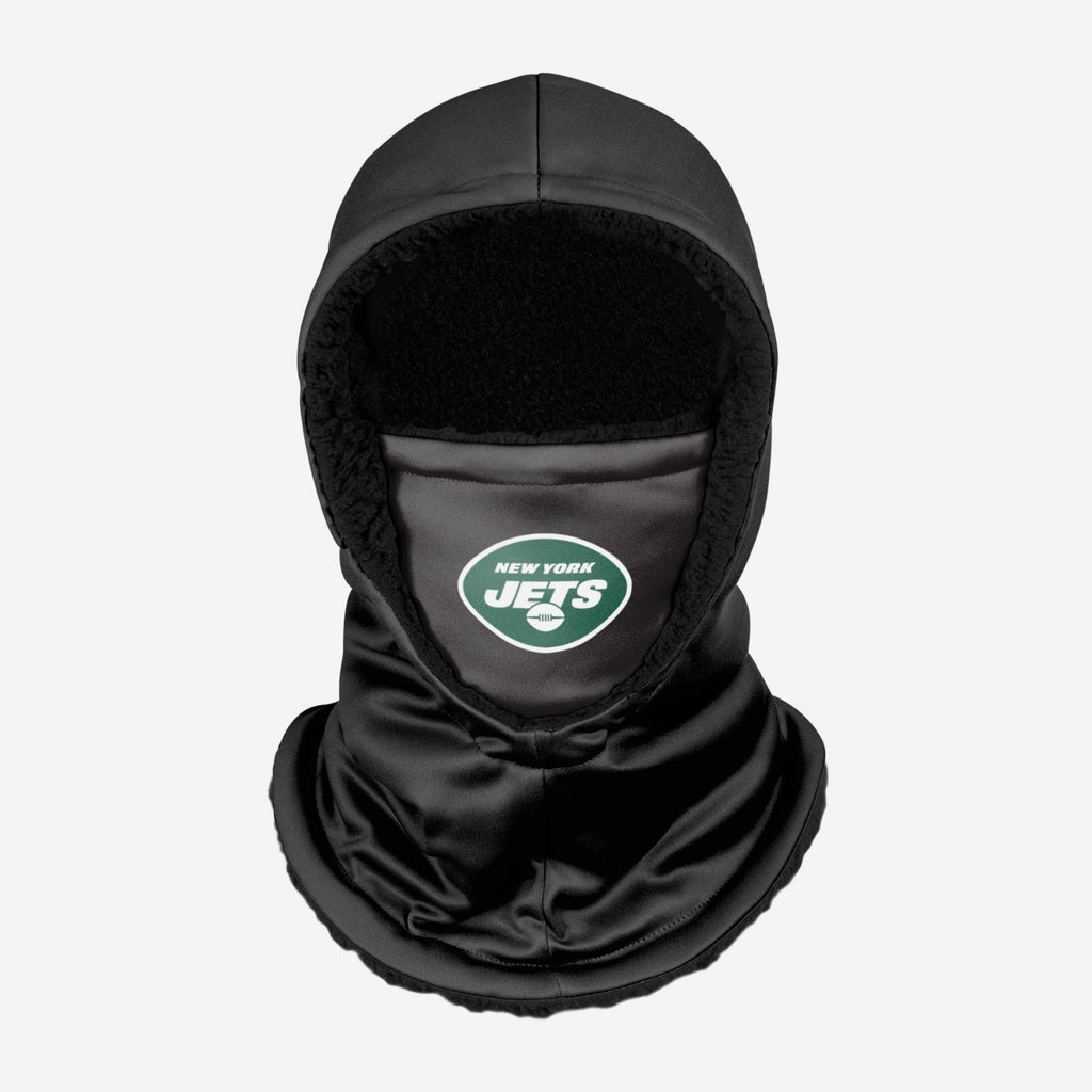 New York Jets Black Hooded Gaiter FOCO - FOCO.com