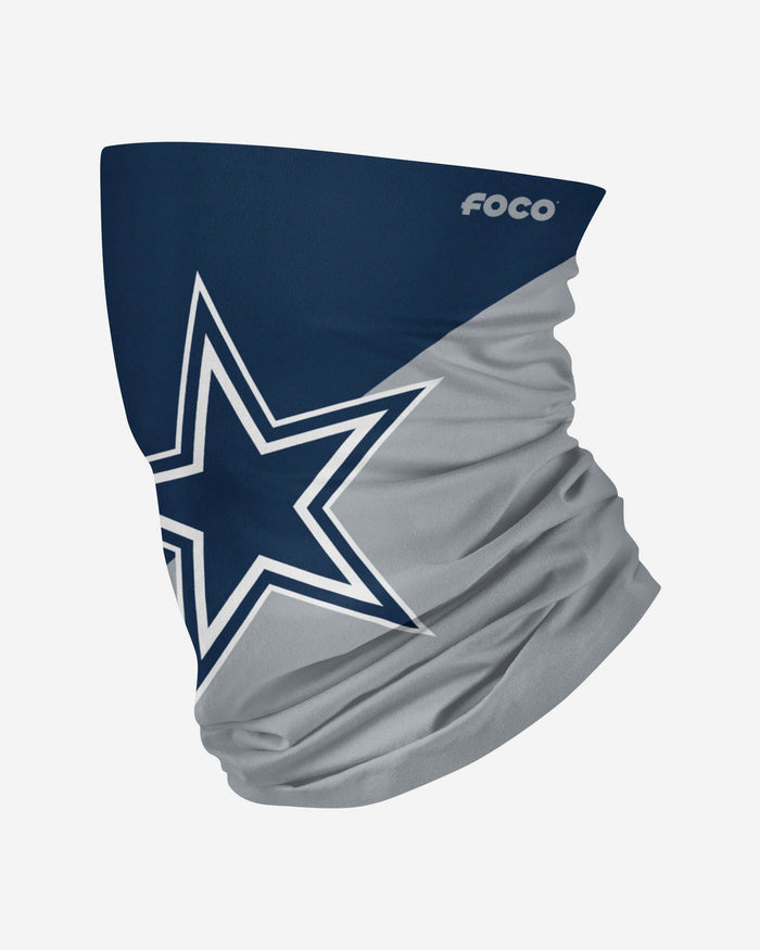 Dallas Cowboys Big Logo Gaiter Scarf FOCO Adult - FOCO.com
