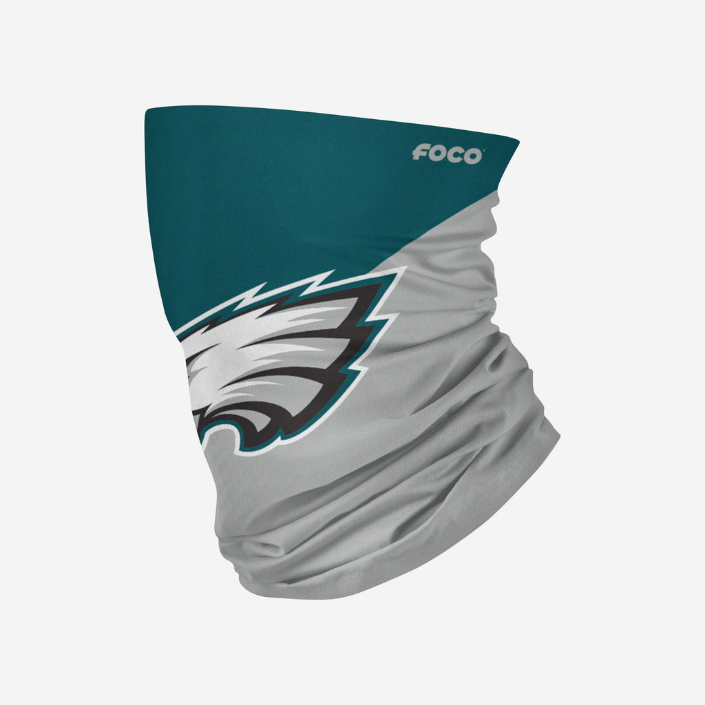 Philadelphia Eagles Big Logo Gaiter Scarf FOCO Adult - FOCO.com