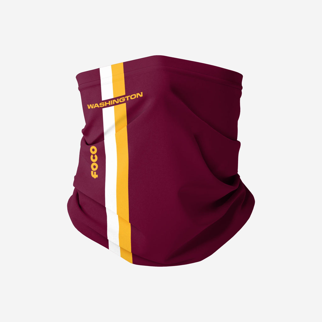 Washington Football Team On-Field Sideline Gaiter Scarf FOCO - FOCO.com