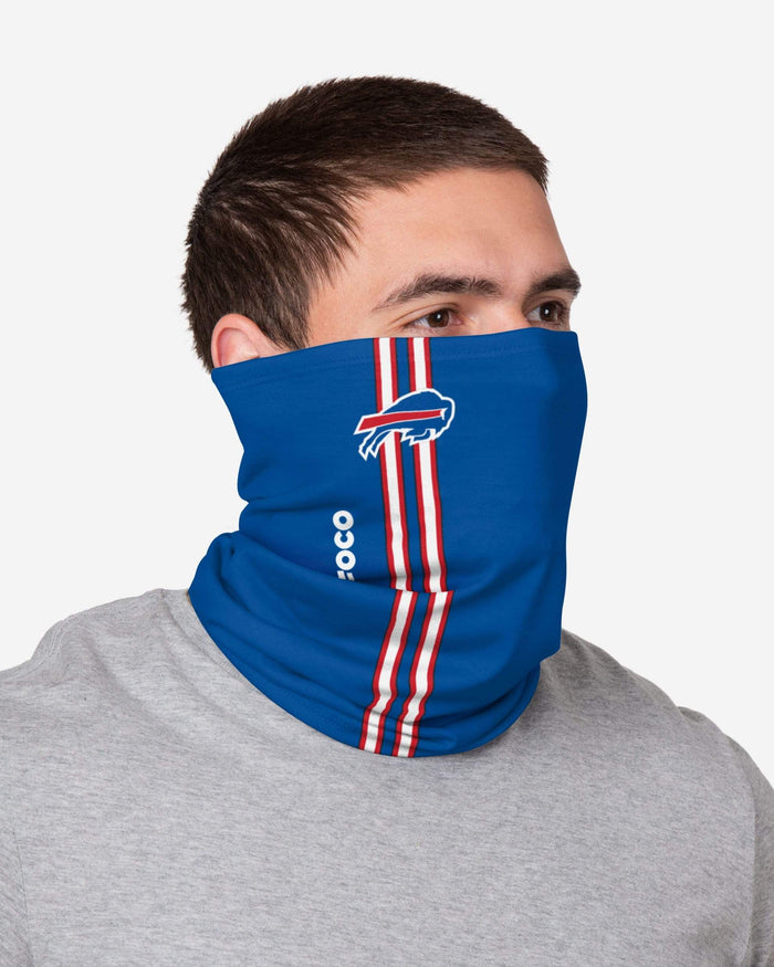 Buffalo Bills On-Field Sideline Logo Gaiter Scarf FOCO - FOCO.com