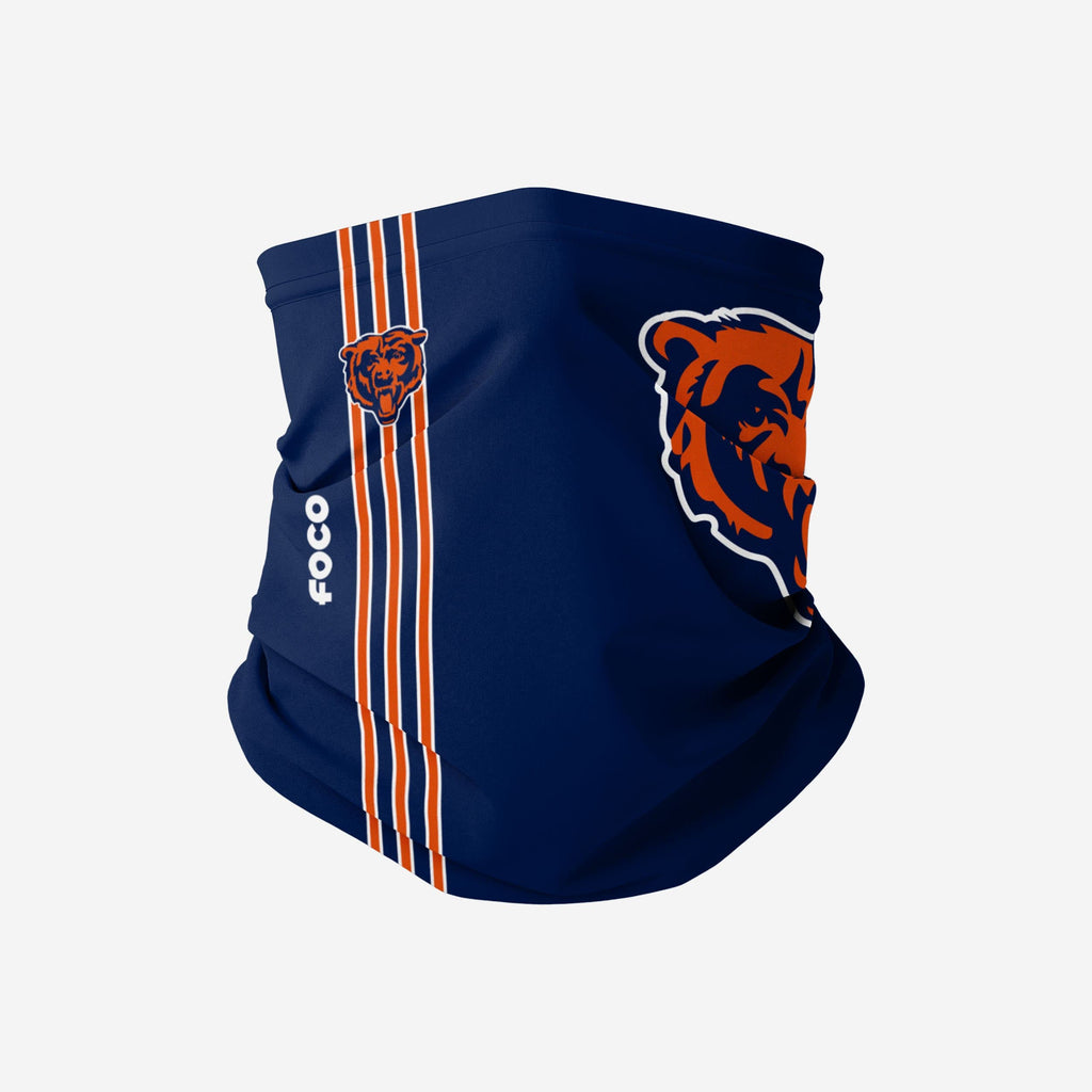 Chicago Bears On-Field Sideline Logo Gaiter Scarf FOCO Adult - FOCO.com