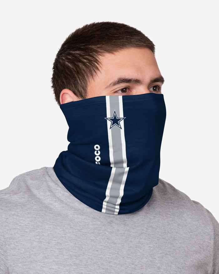 Dallas Cowboys On-Field Sideline Logo Gaiter Scarf FOCO - FOCO.com