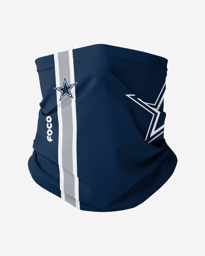 Dallas Cowboys On-Field Sideline Logo Gaiter Scarf FOCO Adult - FOCO.com