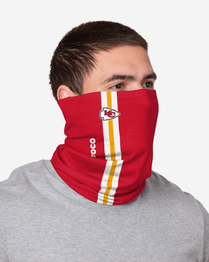 Kansas City Chiefs On-Field Sideline Logo Gaiter Scarf FOCO - FOCO.com