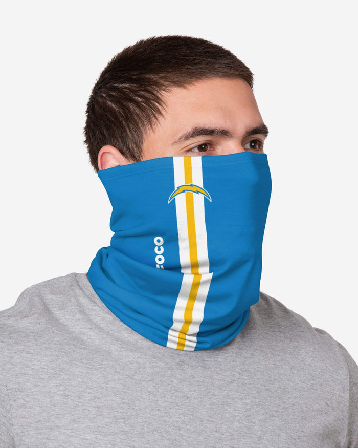 Los Angeles Chargers On-Field Sideline Logo Gaiter Scarf FOCO - FOCO.com