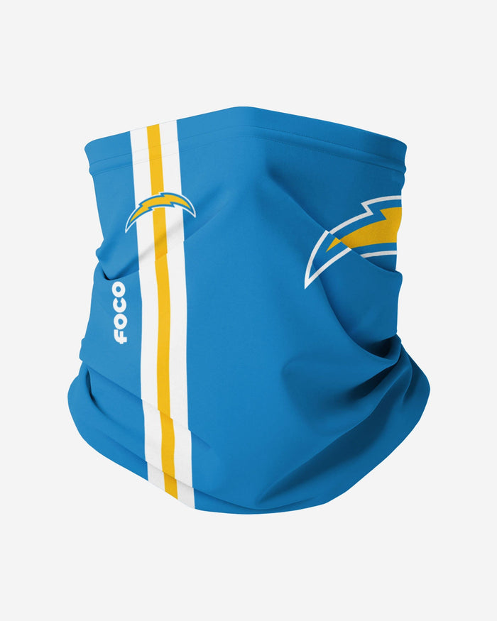 Los Angeles Chargers On-Field Sideline Logo Gaiter Scarf FOCO Adult - FOCO.com