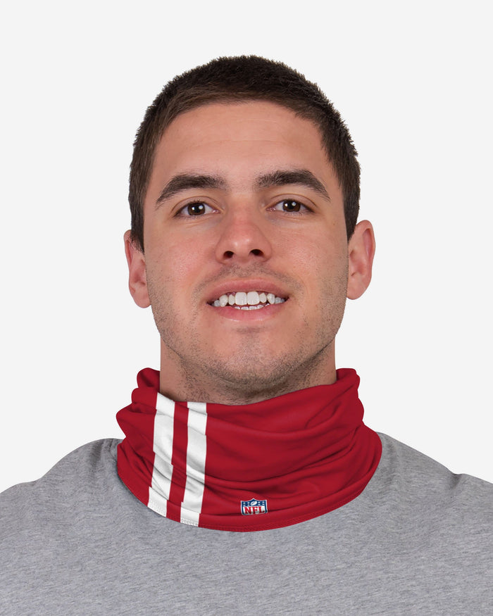George Kittle San Francisco 49ers On-Field Sideline Logo Gaiter Scarf FOCO - FOCO.com