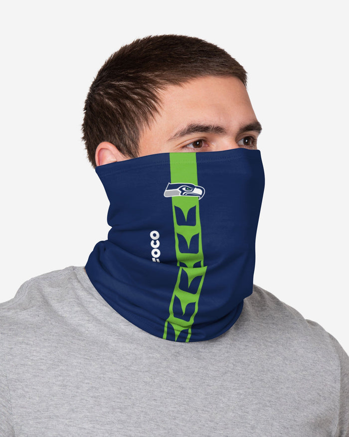 Seattle Seahawks On-Field Sideline Logo Gaiter Scarf FOCO - FOCO.com