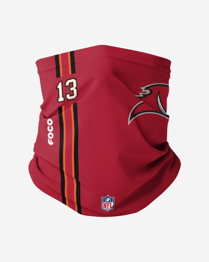 Mike Evans Tampa Bay Buccaneers On-Field Sideline Logo Gaiter Scarf FOCO - FOCO.com