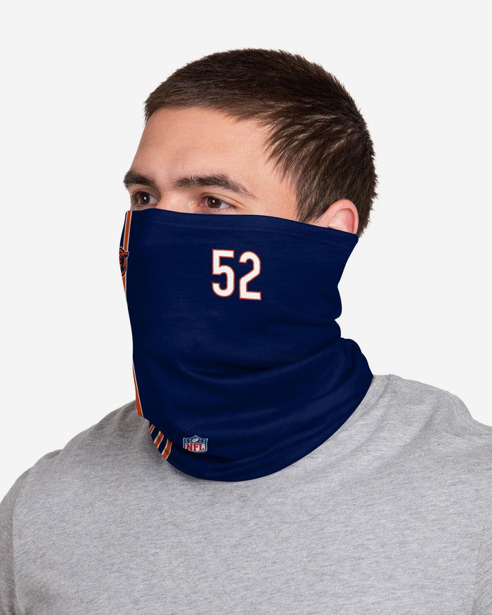 Khalil Mack Chicago Bears On-Field Sideline Gaiter Scarf FOCO - FOCO.com