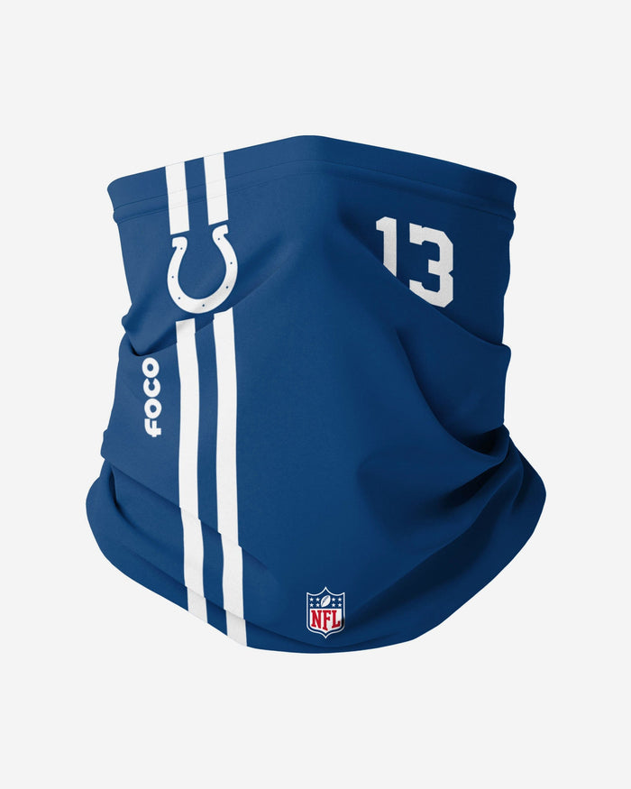 TY Hilton Indianapolis Colts On-Field Sideline Gaiter Scarf FOCO - FOCO.com