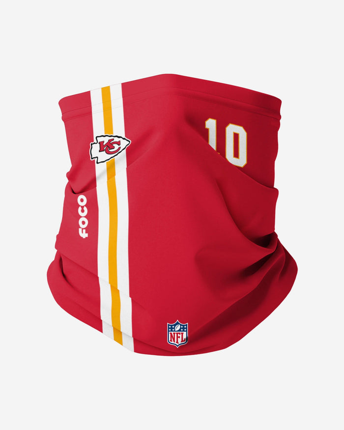 Tyreek Hill Kansas City Chiefs On-Field Sideline Gaiter Scarf FOCO - FOCO.com