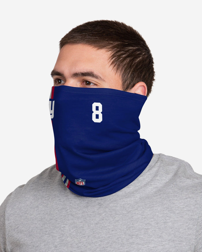 Daniel Jones New York Giants On-Field Sideline Gaiter Scarf FOCO - FOCO.com