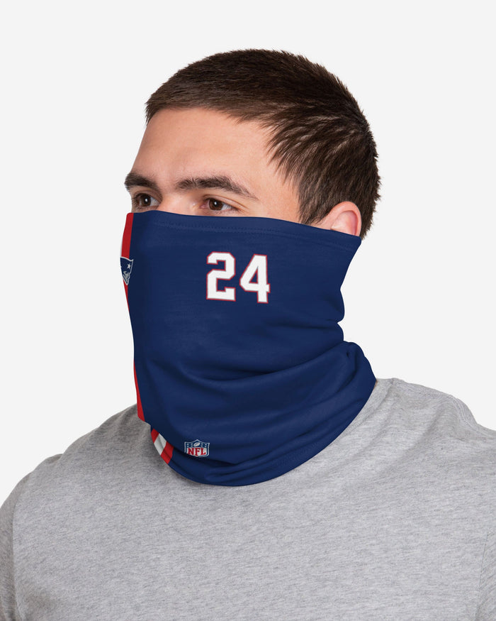 Stephon Gilmore New England Patriots On-Field Sideline Gaiter Scarf FOCO - FOCO.com