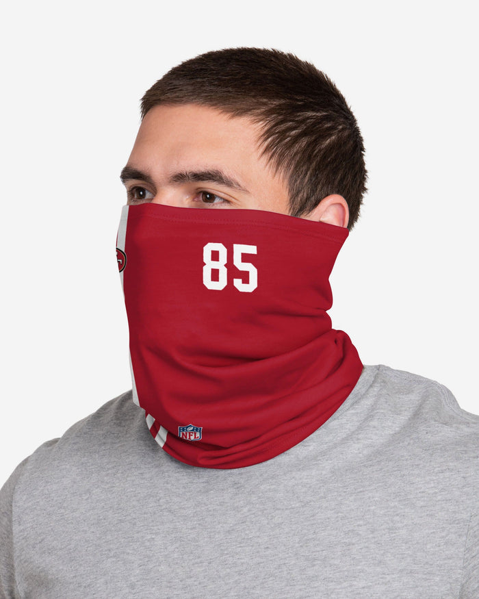 George Kittle San Francisco 49ers On-Field Sideline Gaiter Scarf FOCO - FOCO.com