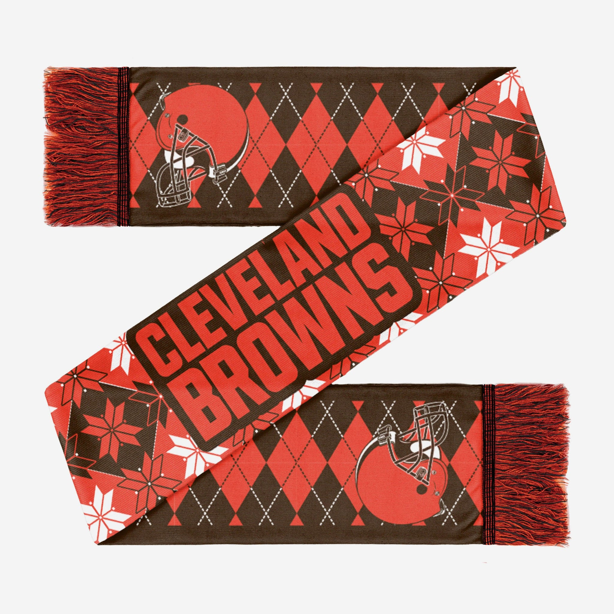 Cleveland Browns Reversible Ugly Scarf