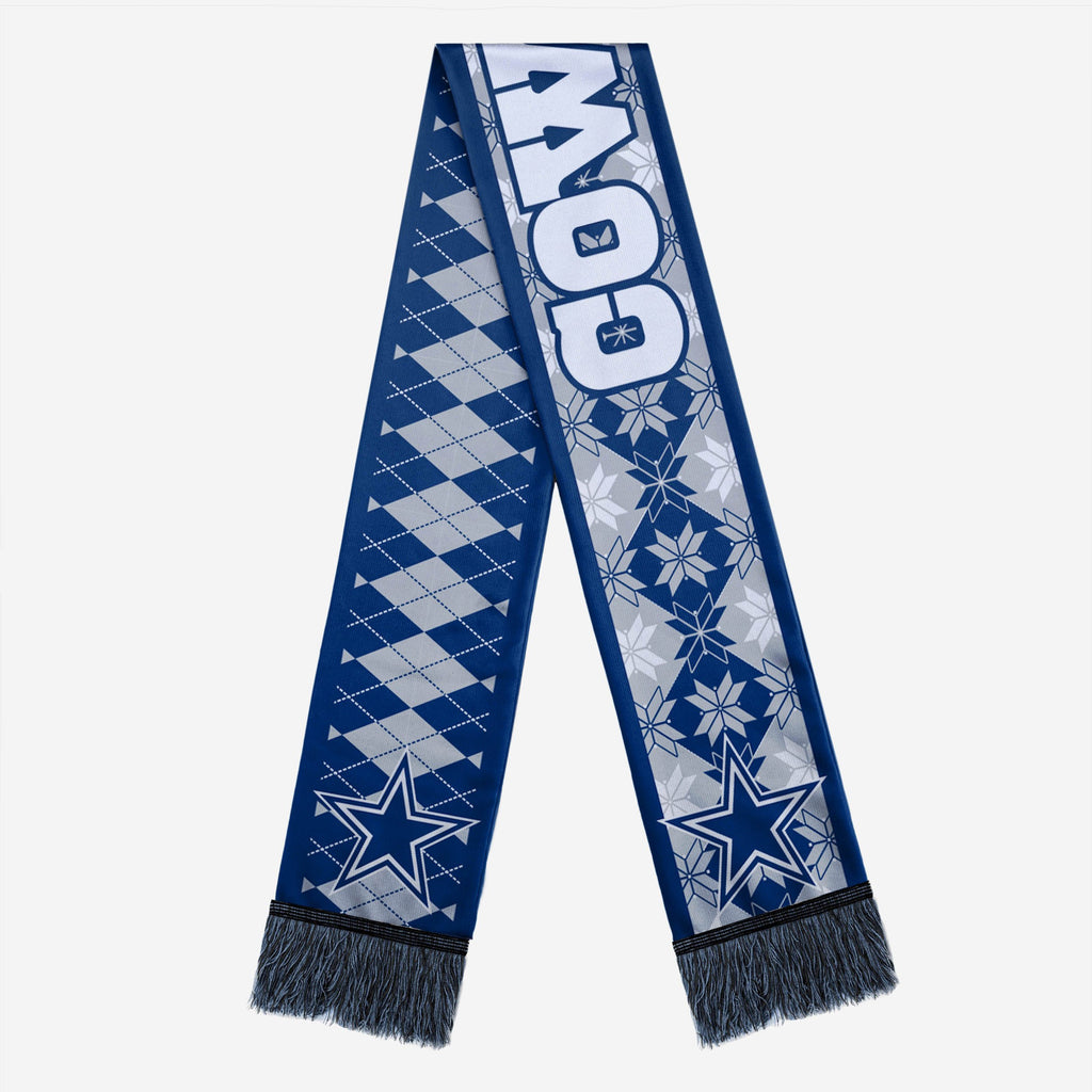 Dallas Cowboys Reversible Ugly Scarf