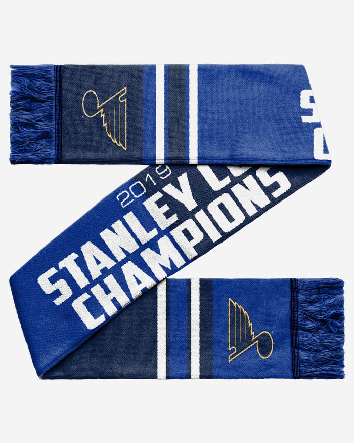 St Louis Blues 2019 Stanley Cup Champions Scarf FOCO - FOCO.com