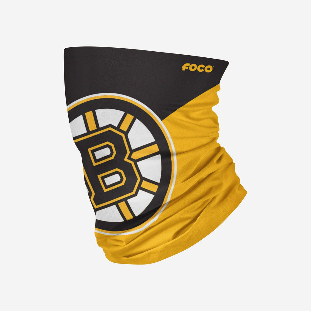 Boston Bruins Big Logo Gaiter Scarf FOCO Adult - FOCO.com