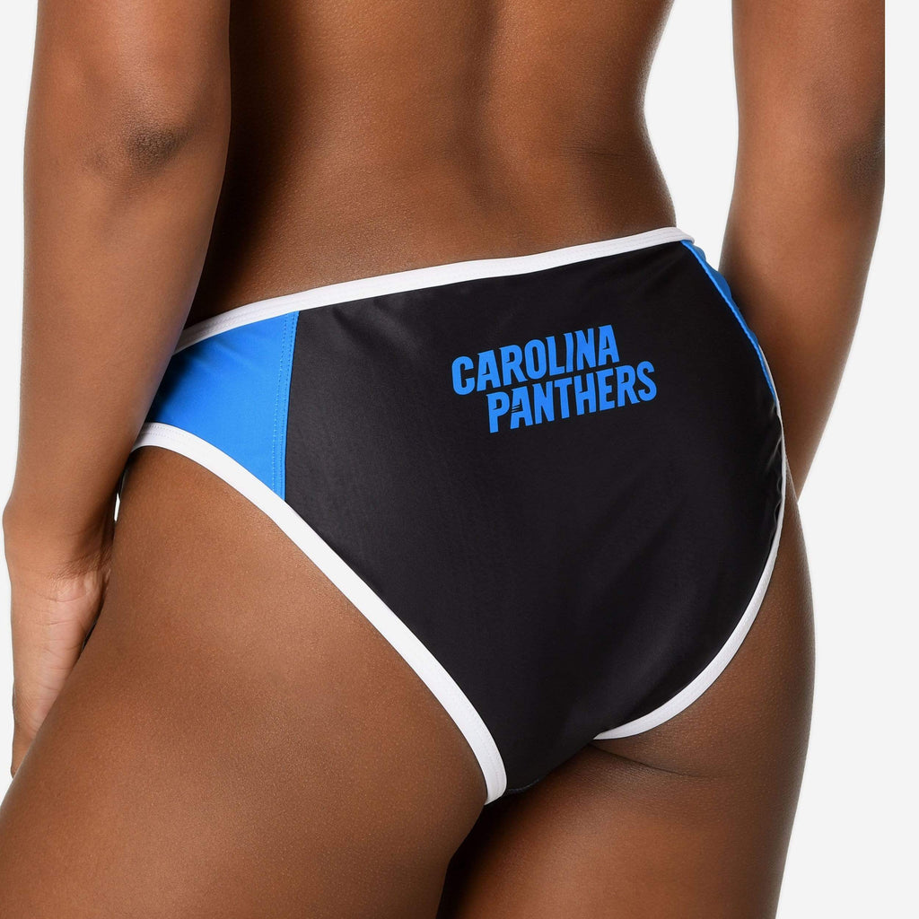 Carolina Panthers Team Logo Bikini Bottom FOCO - FOCO.com