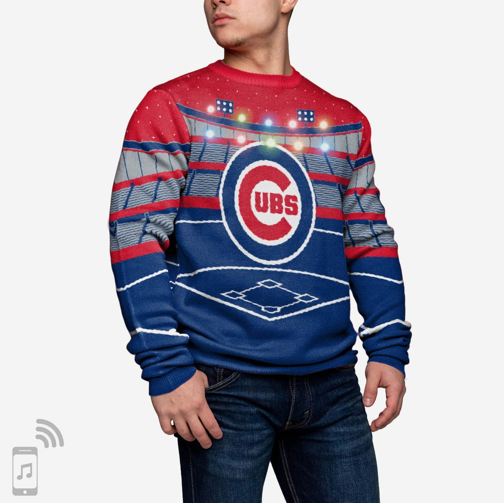 Chicago Cubs Light Up Bluetooth Sweater