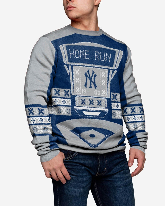 New York Yankees Ugly Light Up Sweater FOCO - FOCO.com