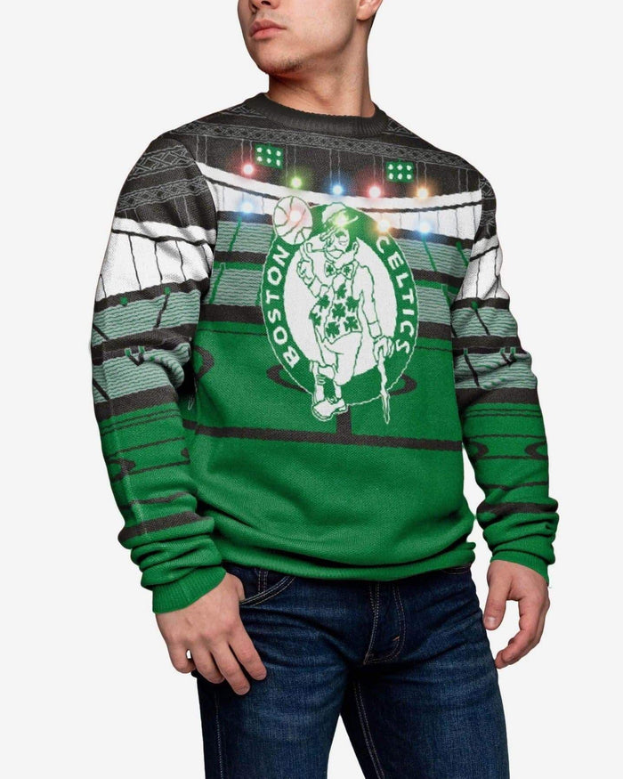 Boston Celtics Light Up Bluetooth Sweater FOCO S - FOCO.com