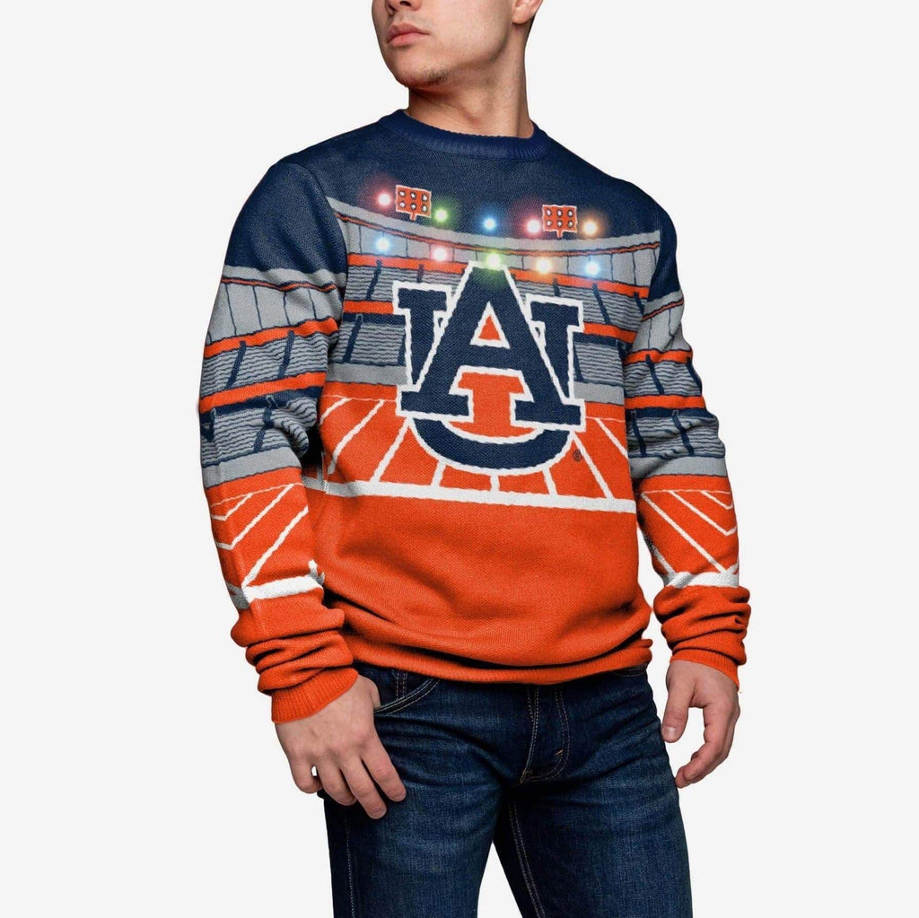 Auburn Tigers Light Up Bluetooth Sweater FOCO L - FOCO.com