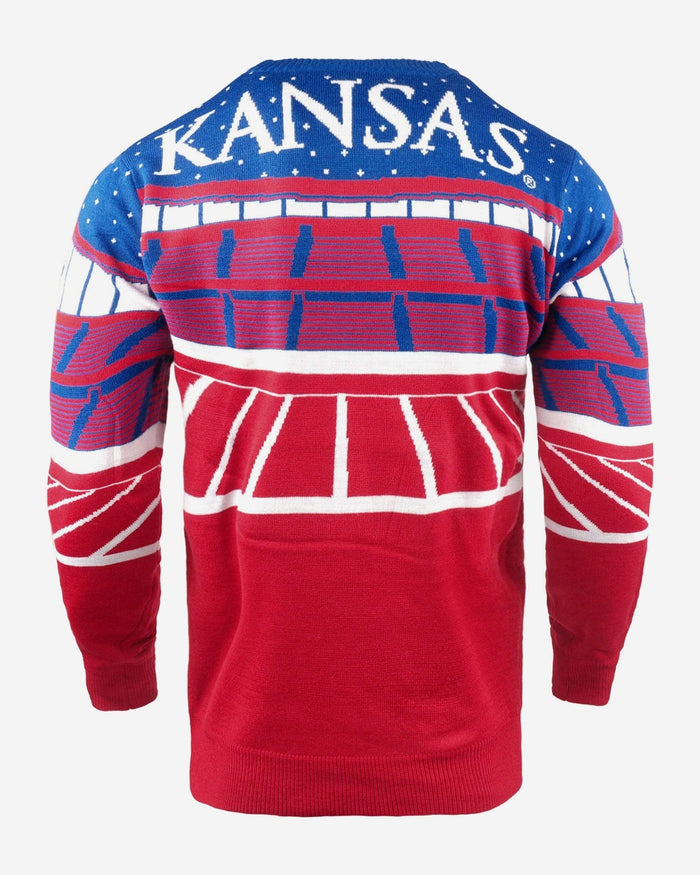 Kansas Jayhawks Light Up Bluetooth Sweater FOCO - FOCO.com