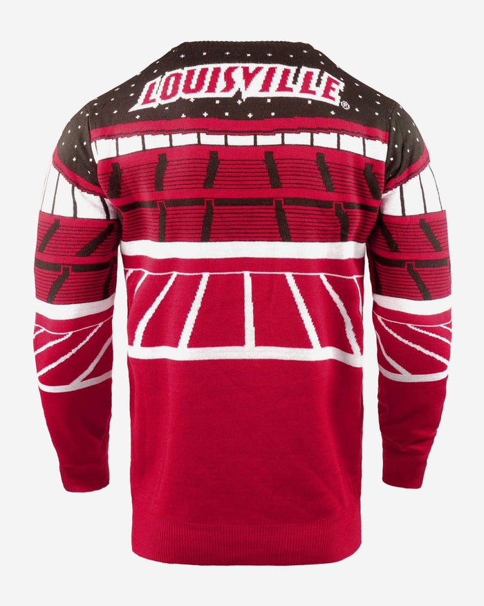 Louisville Cardinals Light Up Bluetooth Sweater FOCO - FOCO.com