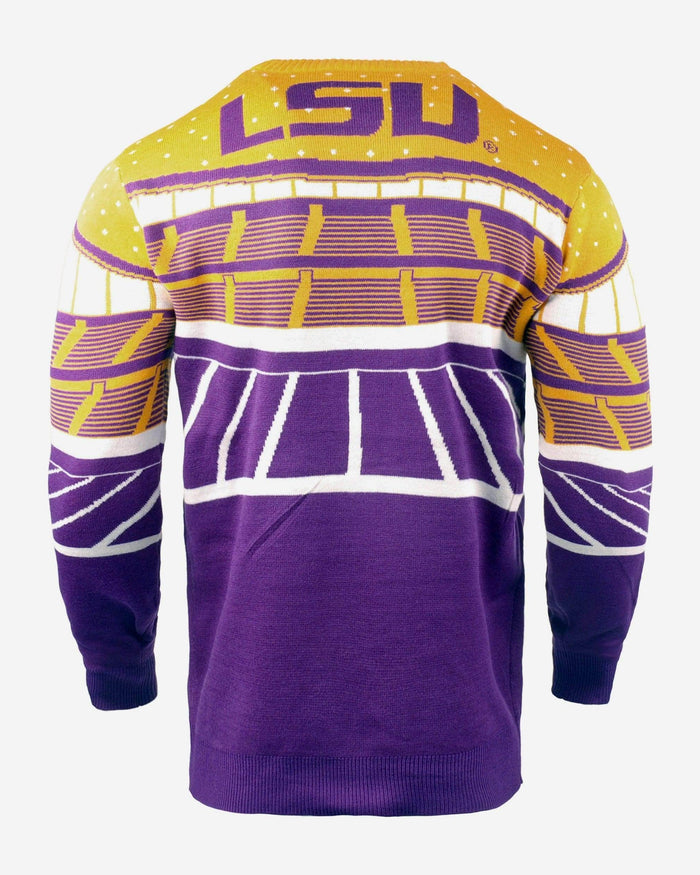 LSU Tigers Light Up Bluetooth Sweater FOCO - FOCO.com