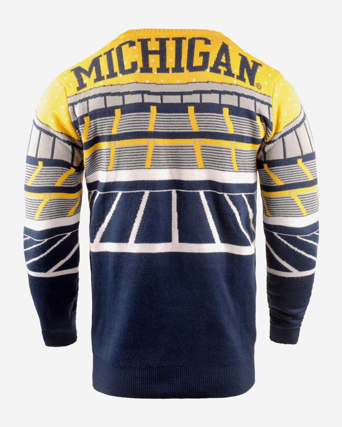 Michigan Wolverines Light Up Bluetooth Sweater FOCO - FOCO.com