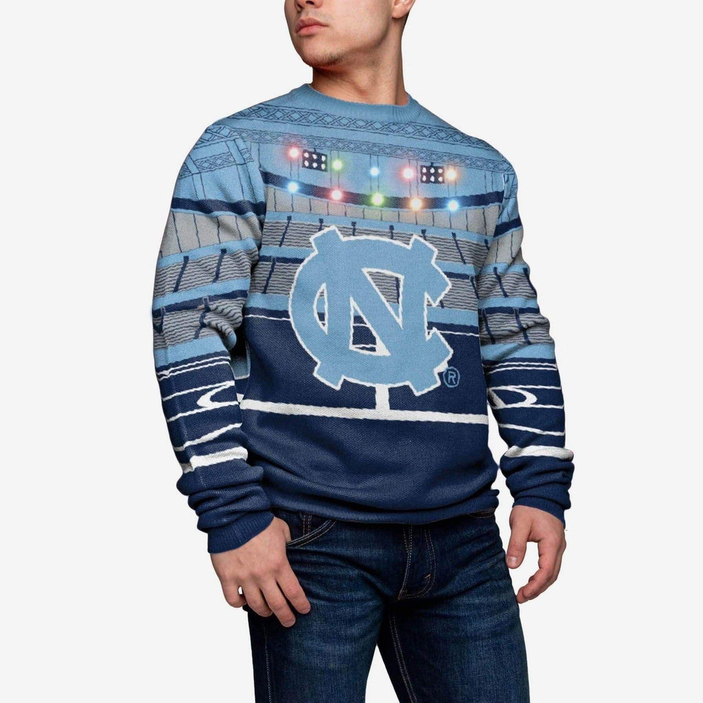 North Carolina Tar Heels Stadium Bluetooth Sweater