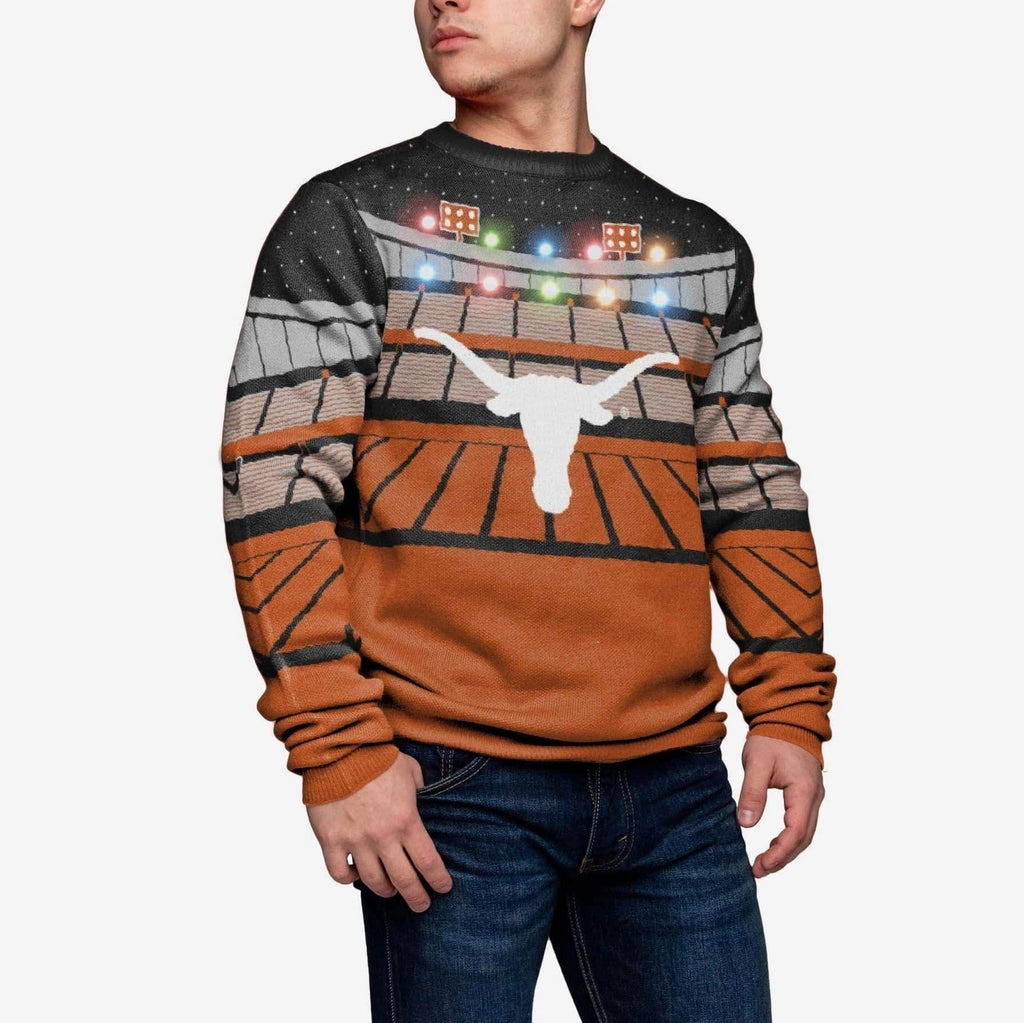 Texas Longhorns Stadium Bluetooth Sweater FOCO M - FOCO.com