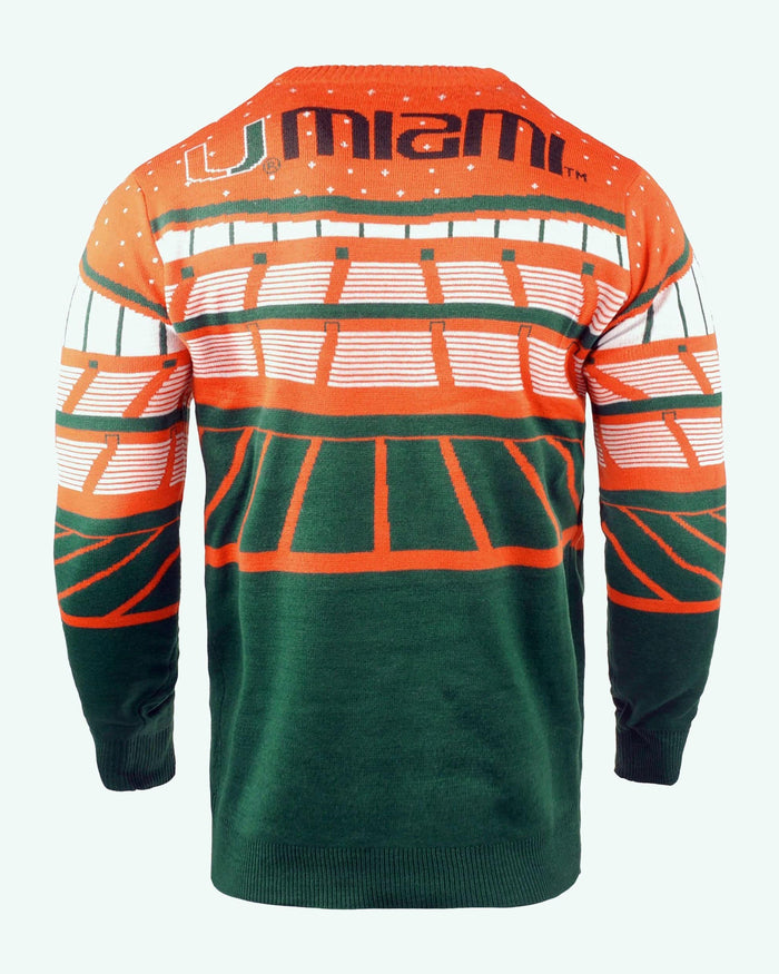 Miami Hurricanes Light Up Bluetooth Sweater FOCO - FOCO.com