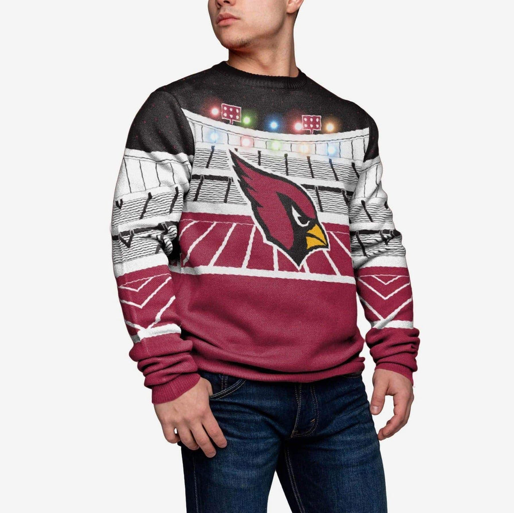 Arizona Cardinals Light Up Bluetooth Sweater