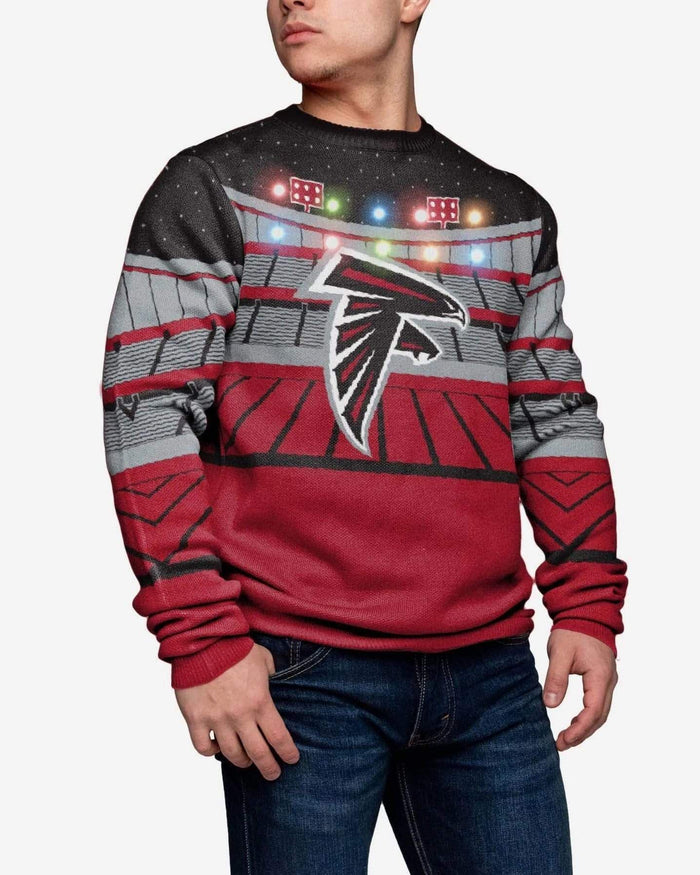 Atlanta Falcons Light Up Bluetooth Sweater FOCO 2XL - FOCO.com
