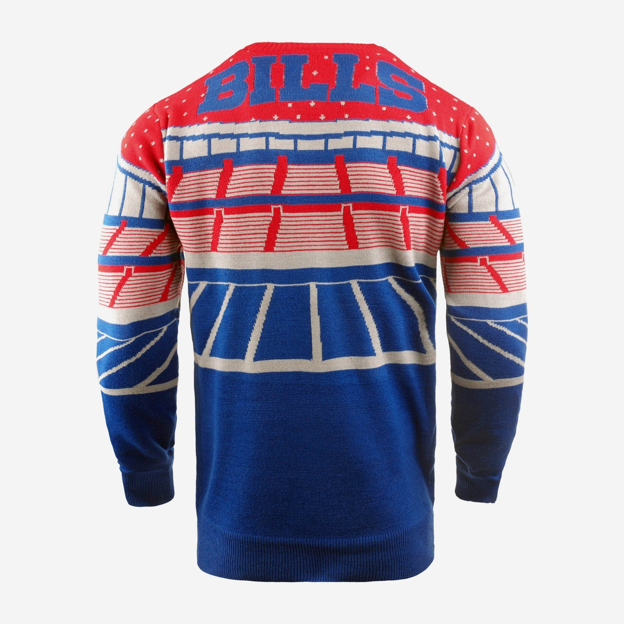 Buffalo Bills Light Up Bluetooth Sweater FOCO - FOCO.com