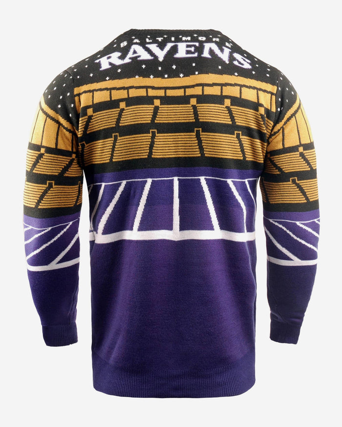 Baltimore Ravens Light Up Bluetooth Sweater FOCO - FOCO.com