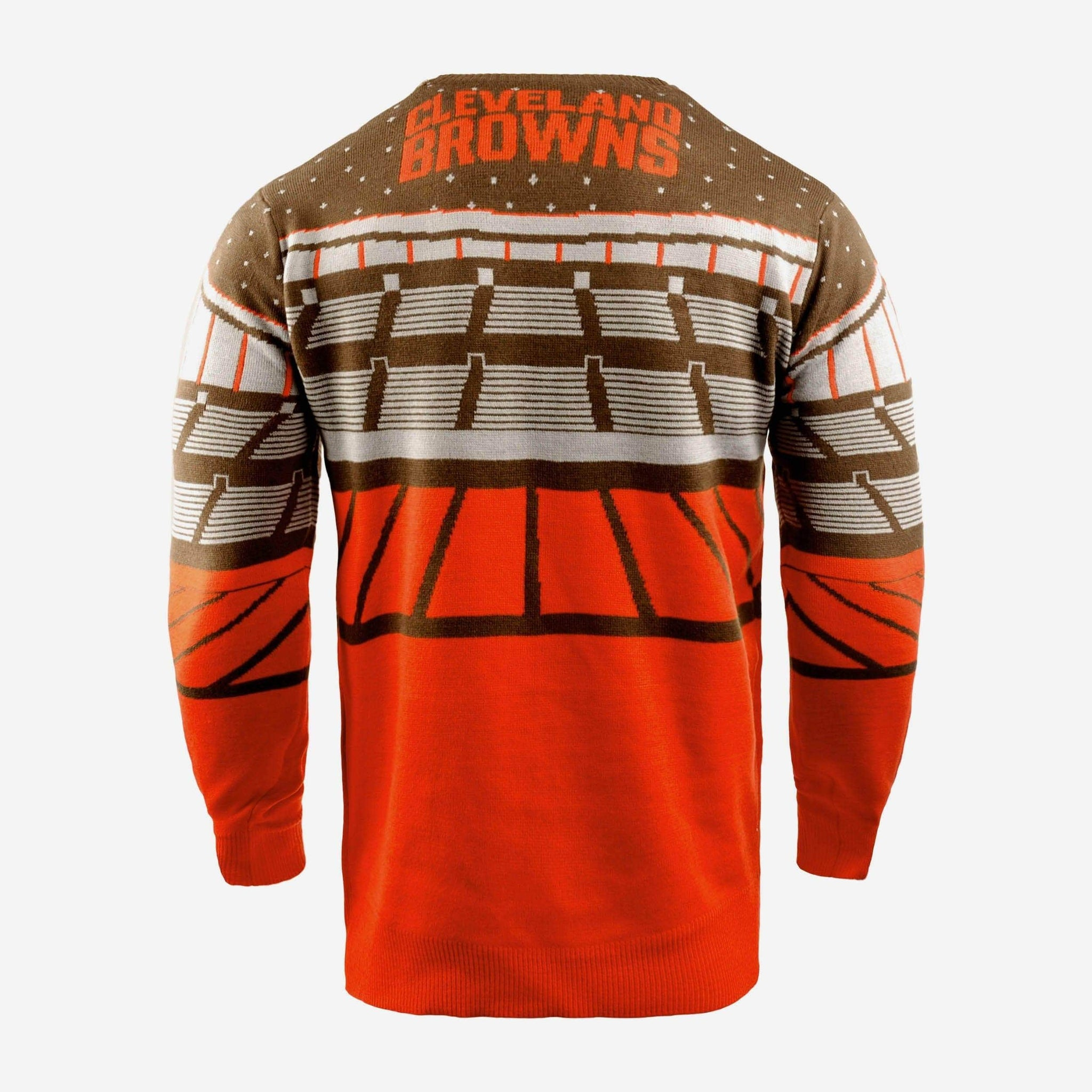 Lighting Cleveland: Cleveland Browns Light Up Bluetooth Sweater FOCO.com