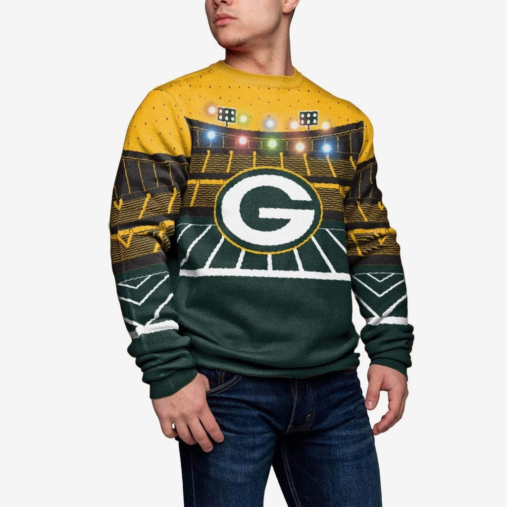 Green Bay Packers Light Up Bluetooth Sweater