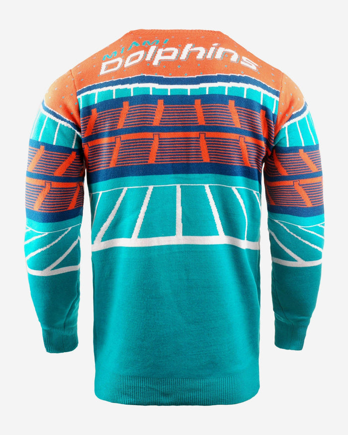 Miami Dolphins Light Up Bluetooth Sweater FOCO - FOCO.com